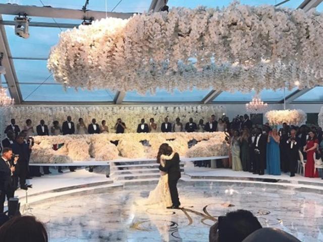 画像2: 式場は世界遺産の城! 富豪とモデルの総額7億円の結婚式がまるで夢の世界