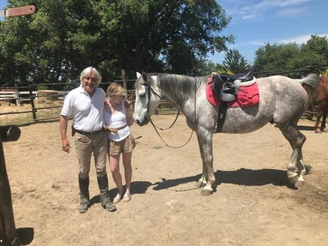 画像1: 乗馬にチャレンジ