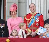 画像: 2017年【35歳】 エリザベス女王の公式誕生日にて
