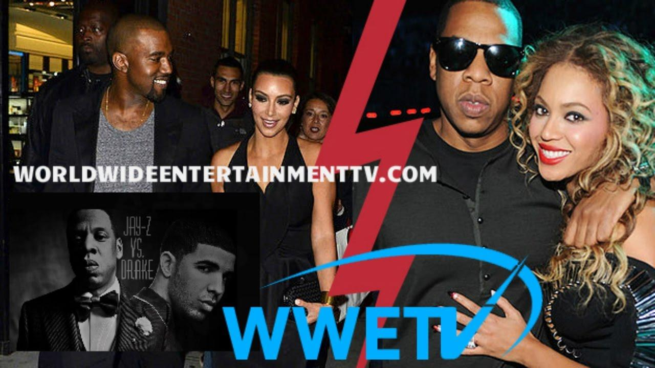 画像: Kanye West Takes Shots At Jay Z About Kim Kardashian & Drake youtu.be