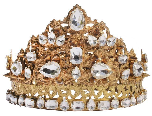 画像1: アルバムのプロモーションで使用した王冠