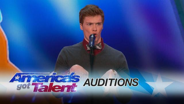 画像: Daniel Ferguson: Impressionist Surprises Simon Cowell - America's Got Talent 2017 youtu.be