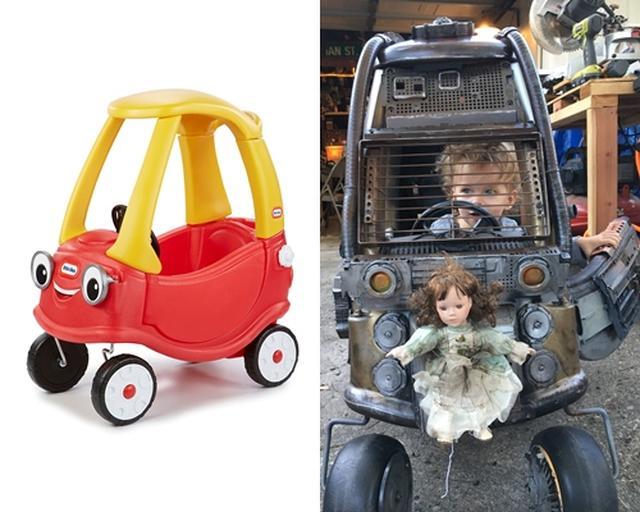 画像2: おもちゃを『マッドマックス』仕様に改造