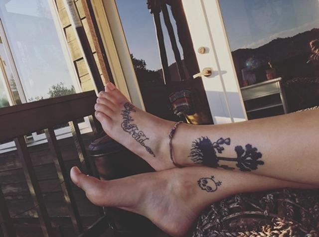画像1: タトゥーで亡き父への愛を表現
