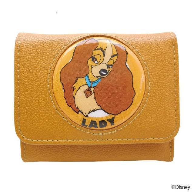 画像: 三つ折り財布(レディ)