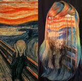 画像: エドヴァルド・ムンクの「叫び」