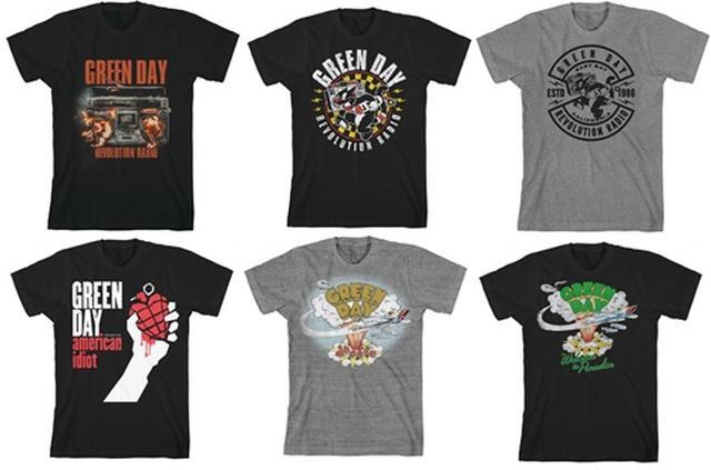 画像: グリーン・デイのレアTシャツが発売