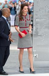 画像1: キャサリン妃、美術館訪問に選んだのは27万円のワンピース