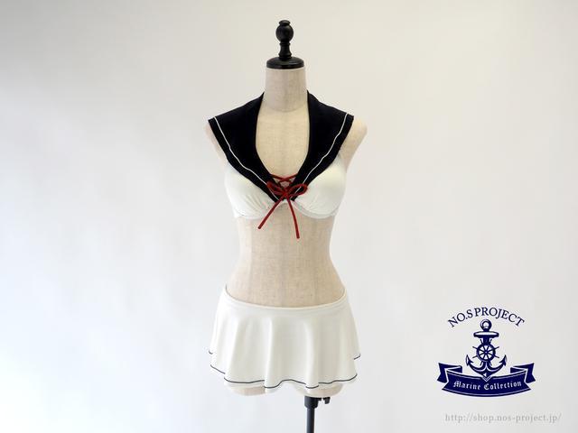 画像3: セーラー服にときめく女子に、セーラービキニが発売!