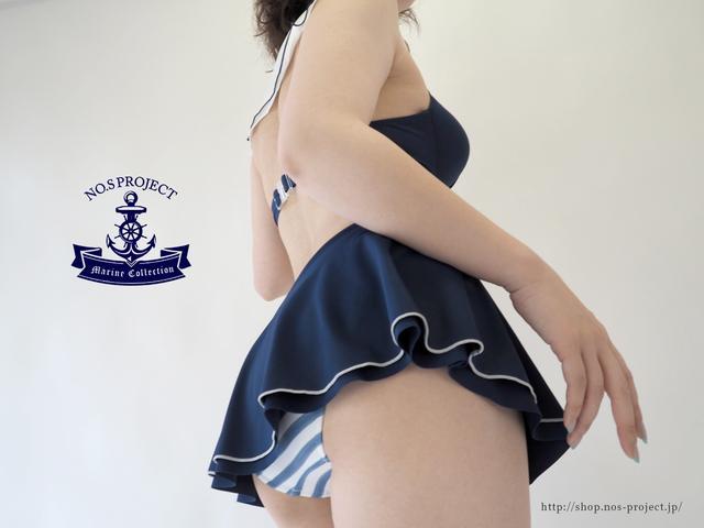 画像2: セーラー服にときめく女子に、セーラービキニが発売!