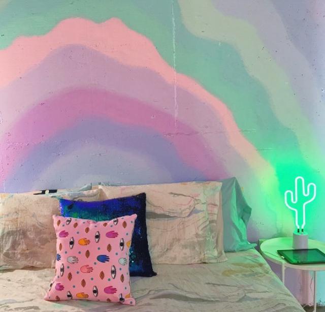 画像1: ユニコーンをテーマにした寝室