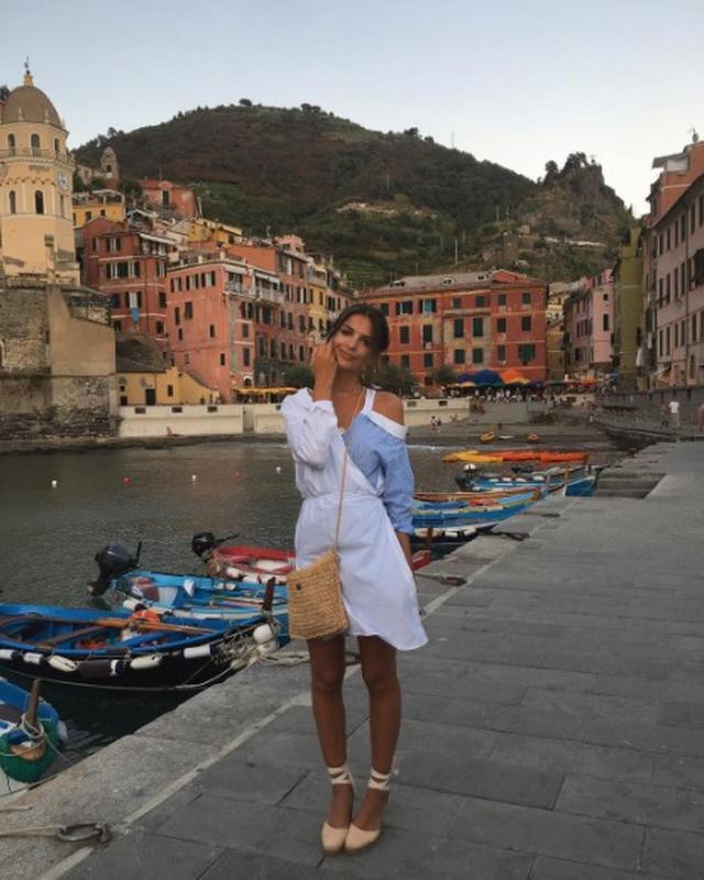画像2: イタリアを満喫していたエミリー