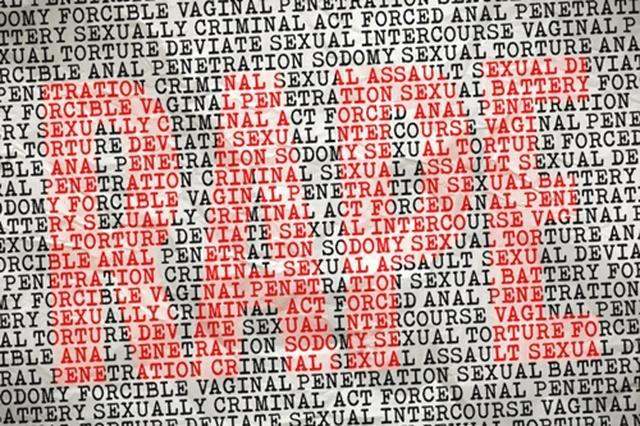 画像: レイプ被害者を苦しめる法律