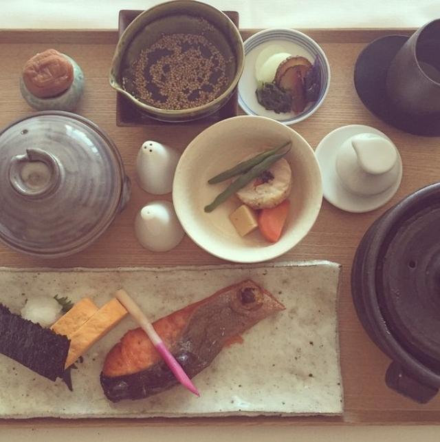 画像2: 朝ご飯は和食