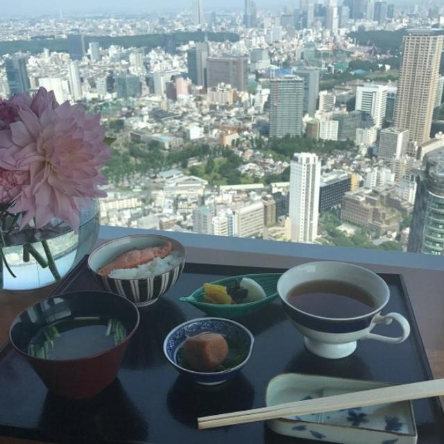 画像1: 朝ご飯は和食