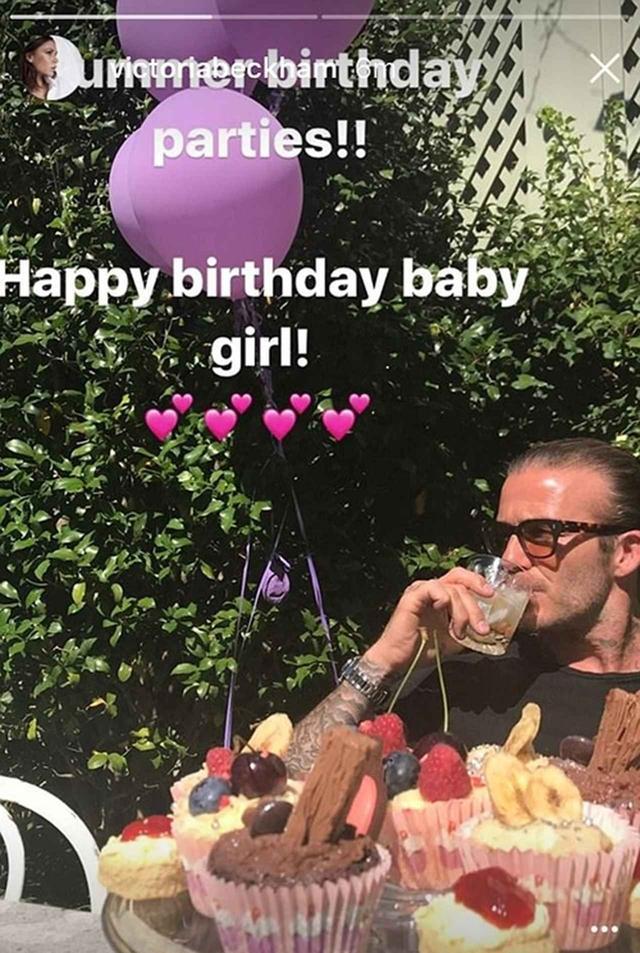 画像3: ベッカムの愛娘ハーパーちゃんが6歳に!家族みんなで誕生日をお祝い