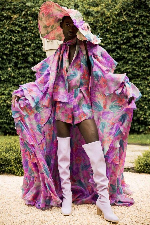 画像: ビヨンセのために作ったドレス。