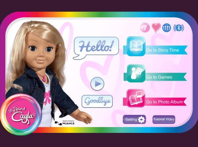 画像: おしゃべり人形のケイラは、アメリカ本国では現在も販売されている。今のところはこの玩具に関連するネット犯罪などは報告されていない。©MyFriendCayla
