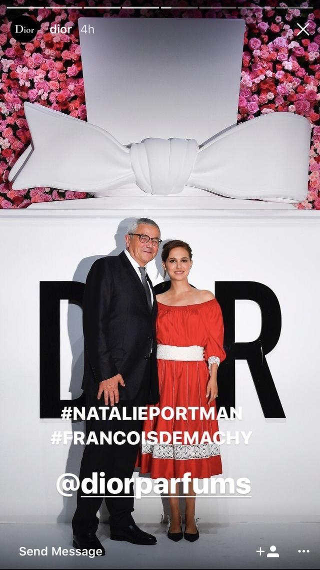 画像1: 【来日中】女優ナタリー・ポートマンがディオールのイベントに登場