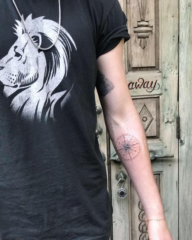 画像2: はやくも4つ目のタトゥーをゲット