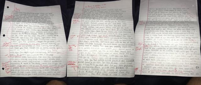 画像1: 元カノの謝罪文を採点してSNSにアップした学生が停学処分