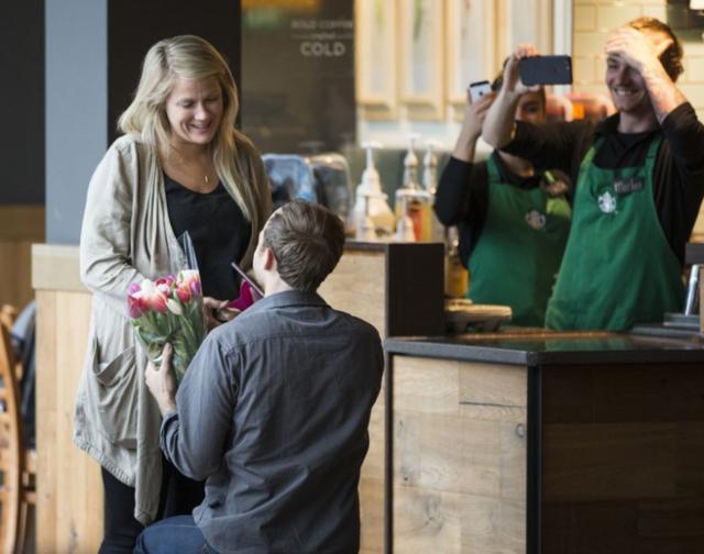 画像1: プロポーズを決意