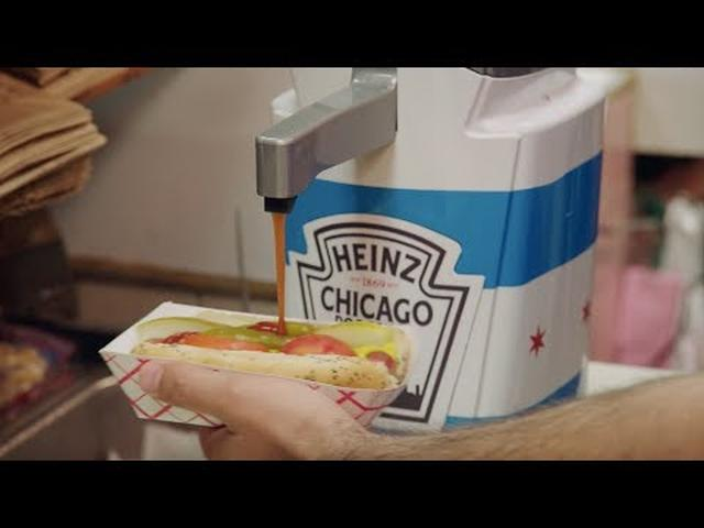 画像: Heinz Ketchup - Chicago Dog Sauce (Extended Cut) www.youtube.com
