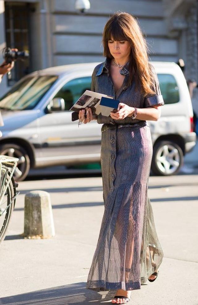 画像5: ミロスラヴァのファッションをチェック