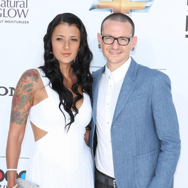 画像: チェスターと妻のタリンダ。(2012年のビルボード・ミュージック・アワードにて)