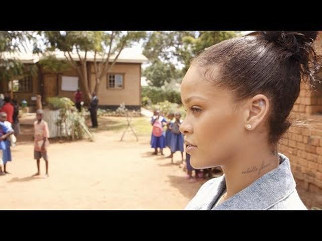 画像: Inside Rihanna's Trip to Malawi for Education www.youtube.com