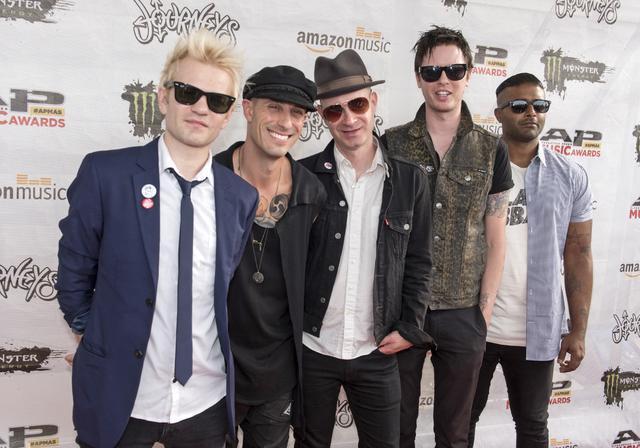 画像: 左からデリック、フランク、トム、ジェイソン、デイヴ。