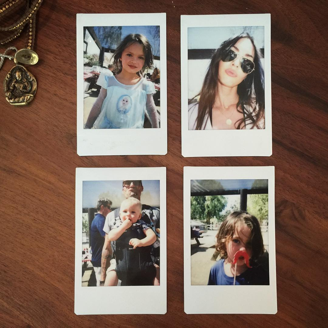 画像1: Instagram投稿の投稿者: Megan Foxさん 日時: 2017  8月 1 3:51午前 UTC www.instagram.com