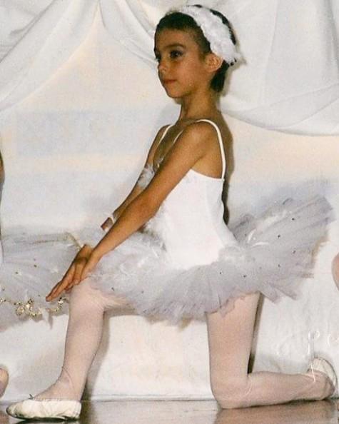 画像: 4歳のころのジョルジーナ。
