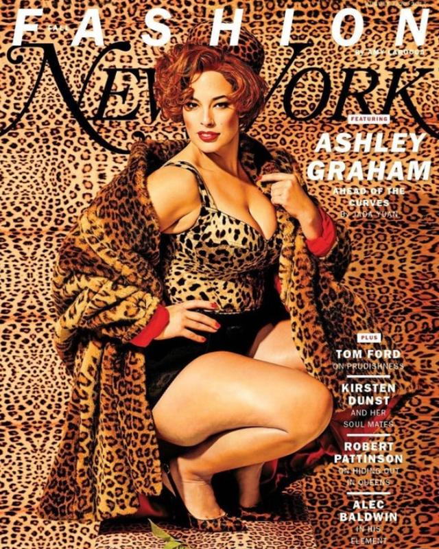 画像: アシュレイが登場したニューヨーク・マグの表紙。©New York Mag