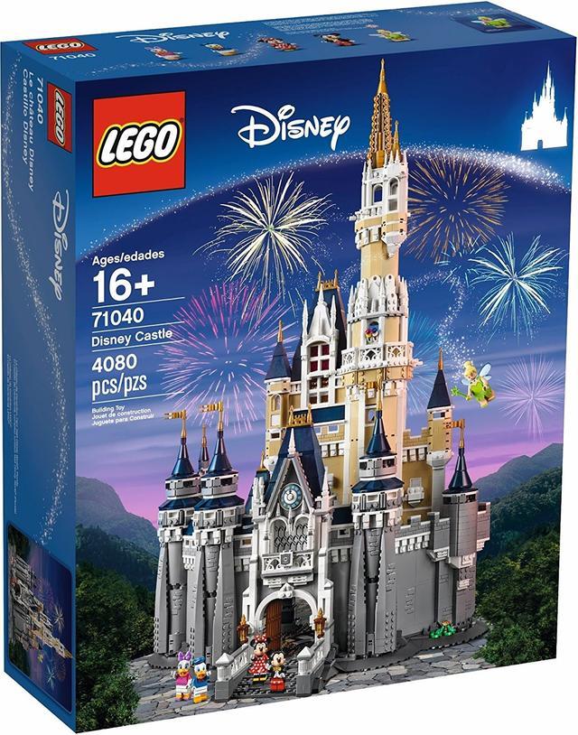 画像2: 娘のため?42歳デヴィッド・ベッカム、LEGOのシンデレラ城を作り始める