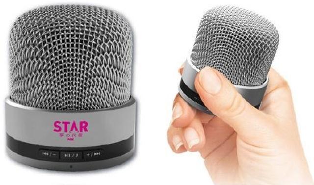 画像: 番組特製マイク型Bluetoothスピーカー