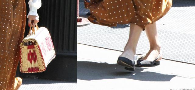 画像2: オリヴィア・パレルモのフェミニンなドット柄スカートスタイルを拝見