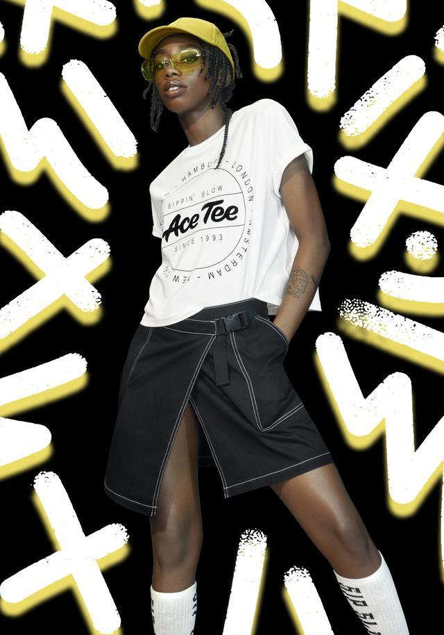 """画像1: H&Mの新コラボ・コレクション""""Ace Tee x H&M""""、公式オンラインストア限定販売"""