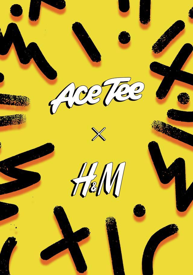 """画像10: H&Mの新コラボ・コレクション""""Ace Tee x H&M""""、公式オンラインストア限定販売"""