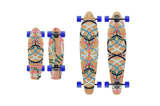 画像1: 老舗ブランドが発売した高級スケートボード