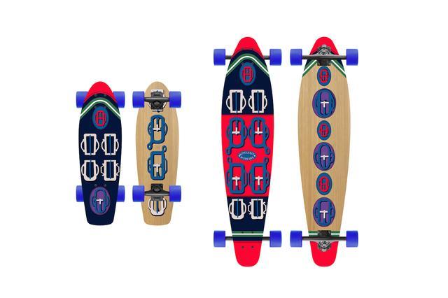 画像3: 老舗ブランドが発売した高級スケートボード