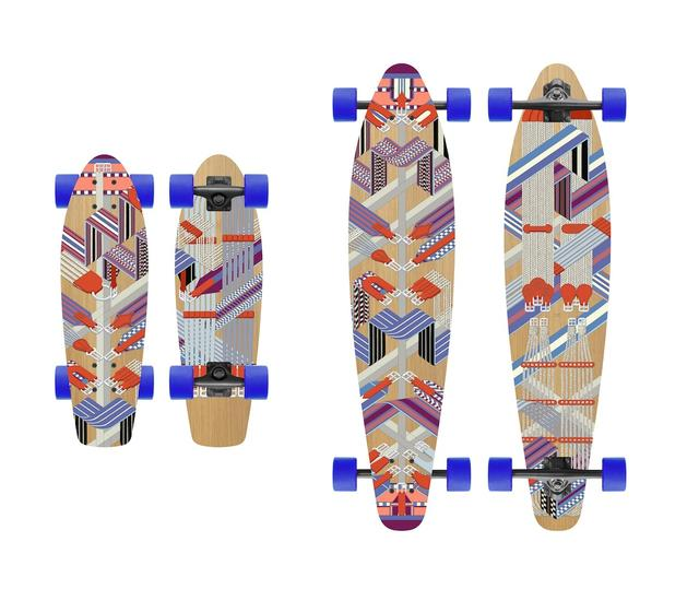 画像2: 老舗ブランドが発売した高級スケートボード