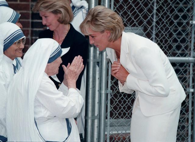 画像: 1995年 35歳 マザーテレサと対面