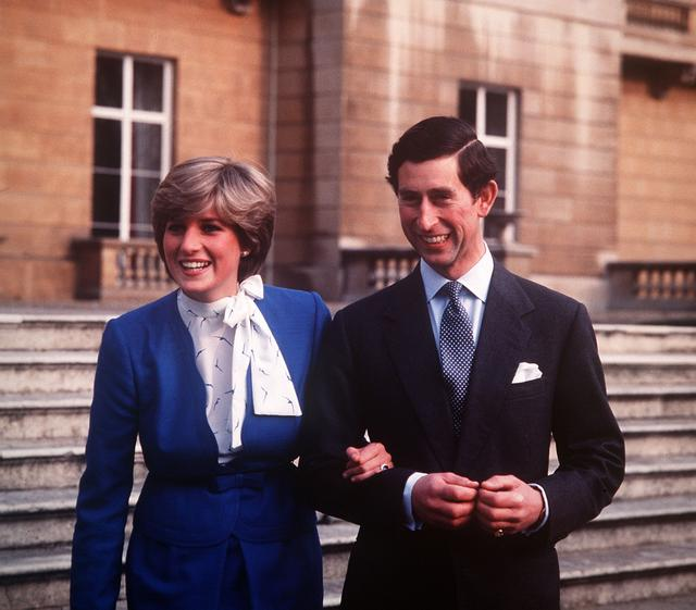 画像: 1981年 20歳 チャールズ皇太子と婚約