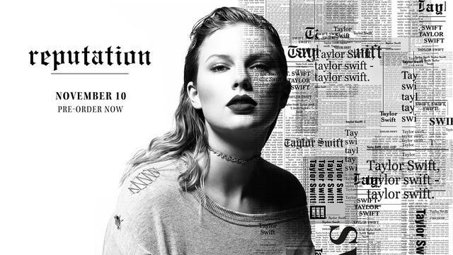 画像: ニューアルバム『レピュテーション(Reputation)』は11月10日に発売予定。