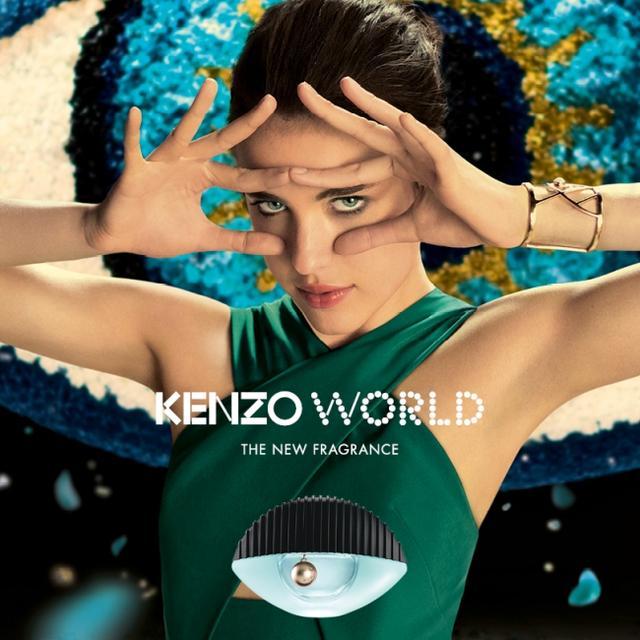 画像: KENZOより待望の新フレグランス「ケンゾー ワールド オーデパルファム」