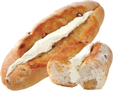 画像: くるみパンのメープルバターサンド