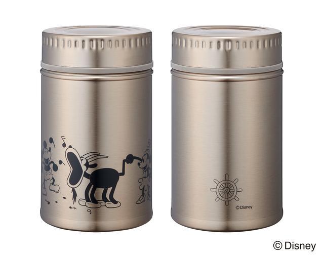 画像2: Disneyシリーズ アンティーク缶風ステンレスボトル 特長