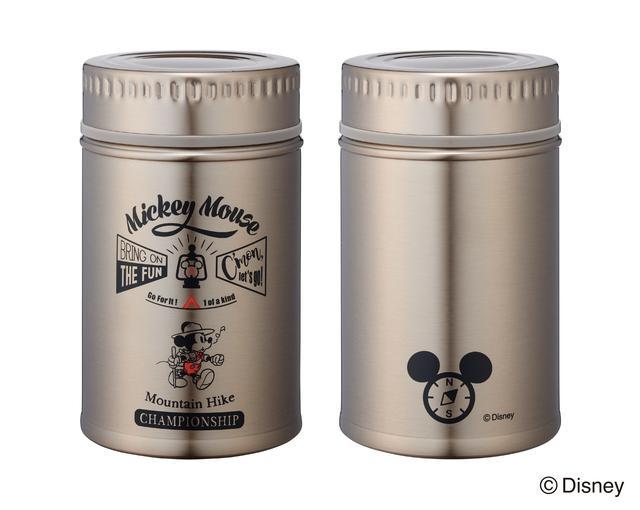 画像2: レトロでおしゃれ!Disneyのアンティーク缶風ステンレスボトルが登場