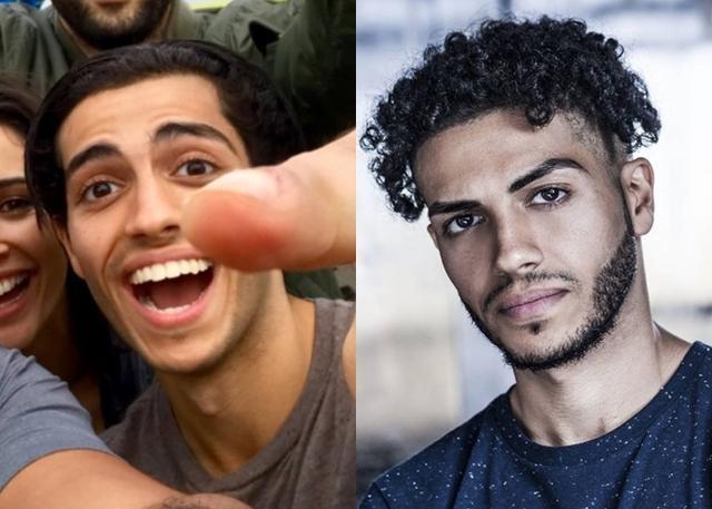 画像: 右は以前のミーナの宣材写真。©Meena Massoud
